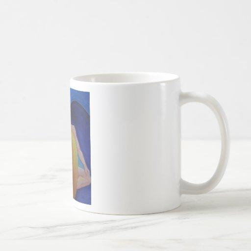Heart Flow Meditation Classic White Coffee Mug