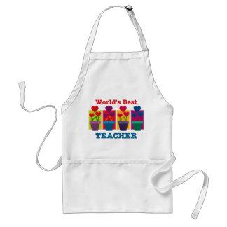 Heart Flower Best Teacher Apron