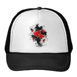 Heart Flower Hat