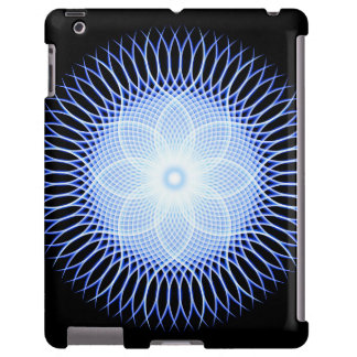 Heart Flower Mandala iPad Case