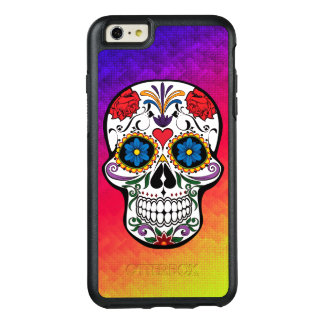 Heart Flower Skull Abstract OtterBox iPhone 6/6s Plus Case