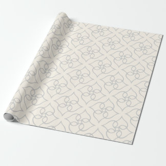 Heart flower Wraping Paper Wrapping Paper