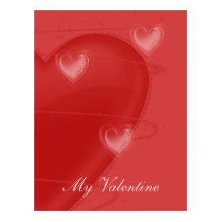 Heart Flutter Postcard