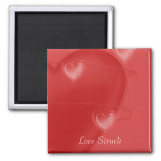Heart Flutter Square Magnet