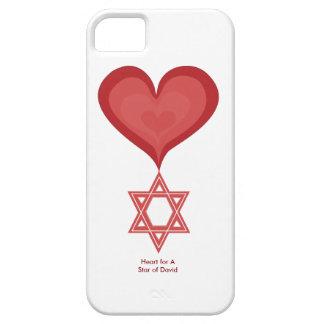 Heart for A Star of David iPhone5 Case Heart Art