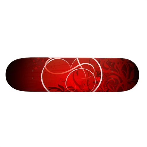 Heart for the St. Valentine's day - Skate Board Decks