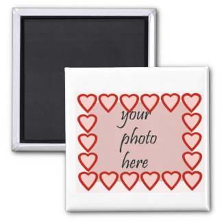 Heart frame for your picture refrigerator magnets