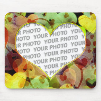 Heart Frames 5 + your photo Mouse Pads