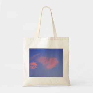 Heart from clouds - carrying bag