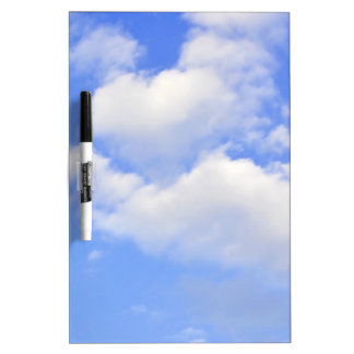 Heart from clouds Dry-Erase Boards