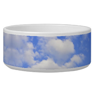 Heart from clouds Pet Bowls