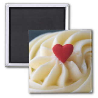 Heart Frosting Square Magnet