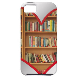 Heart Full of Books iPhone 5 Case