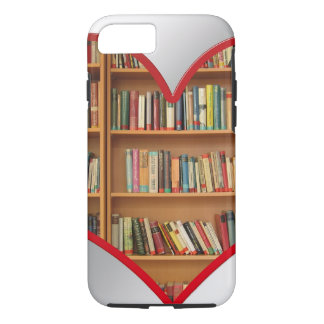 Heart Full of Books iPhone 8/7 Case