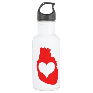 Heart full of Love 532 Ml Water Bottle