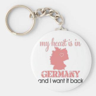 Heart Germany Keychain