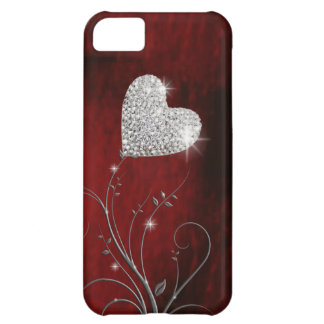 heart girly lovely red iPhone 5C case