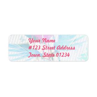 Heart Graffiti Mailing Label Return Address Label