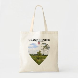 Heart Grantchester Tote Canvas Bags