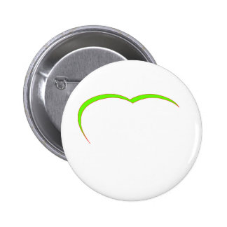 Heart Green Lt-Red Curve The MUSEUM Zazzle Gifts Buttons