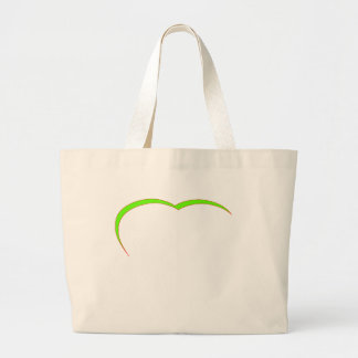 Heart Green Lt-Red Curve The MUSEUM Zazzle Gifts Bag