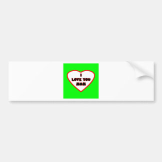 Heart Green Transp Filled The MUSEUM Zazzle Gifts Bumper Sticker