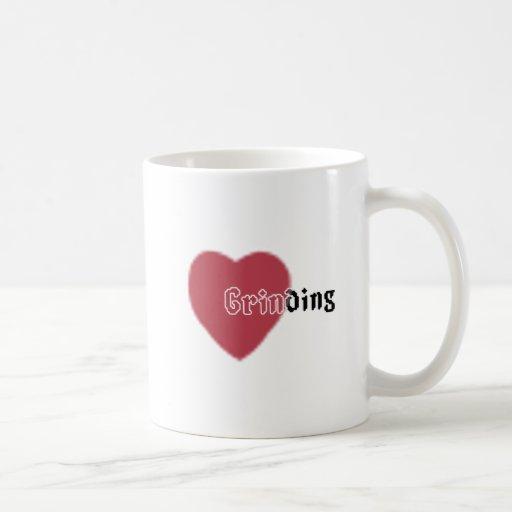 Heart Grinding Mug