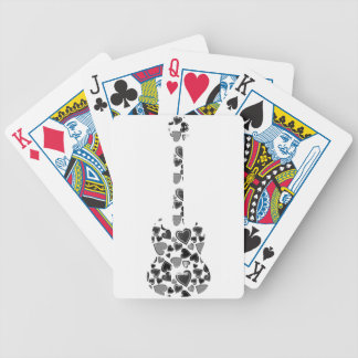 Heart Guitar Bicycle Playing Cards