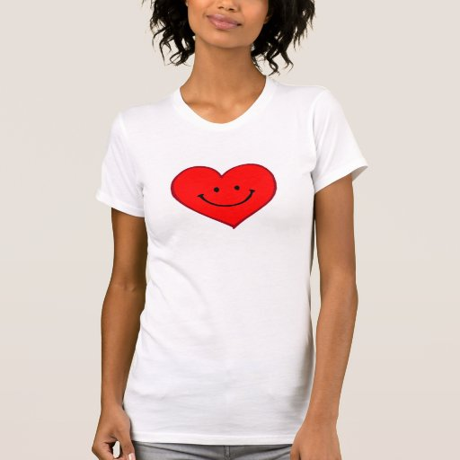 Heart  (Happy Face) Tshirt