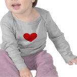 Heart  (Happy Face) Tshirts