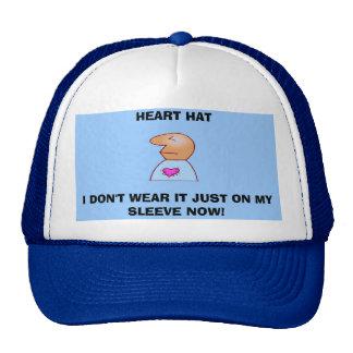 HEART HAT, I DON'T WEAR IT JUST ON MY SL... CAP