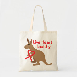 Heart Health Awareness Tote Bag