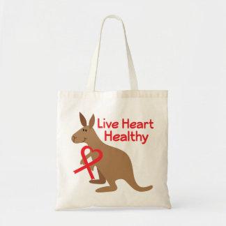Heart Health Awareness Tote Bag