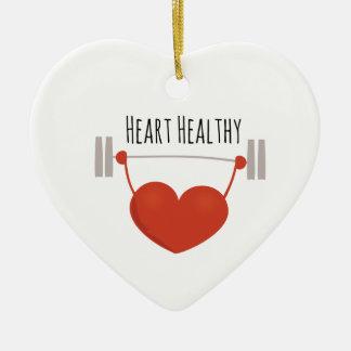 Heart Healthy Ceramic Heart Decoration