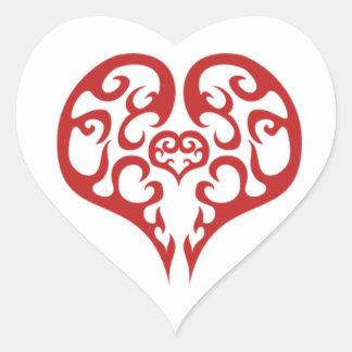 Heart Heart Sticker