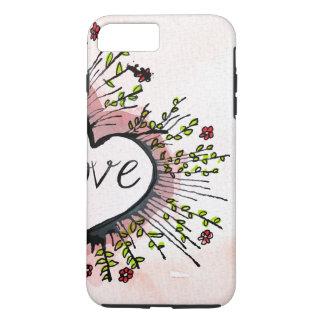 Heart Hearts love custom personalize Anniversaries iPhone 7 Plus Case