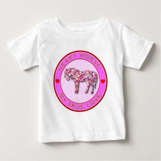 HEART HORSE BABY T-Shirt