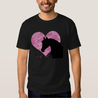 Heart Horse (pink camo) Customize Shirt
