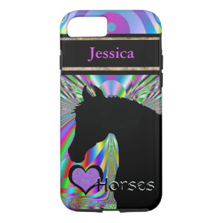 Heart Horses III Customizable (Dreamz 5) iPhone 7 Case