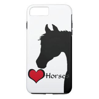 Heart Horses III (white) iPhone 7 Plus Case
