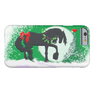 Heart Horses VI (Holiday Tree) Barely There iPhone 6 Case