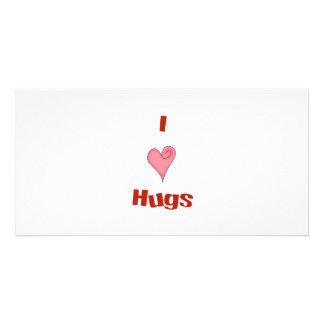 heart hugs photo cards