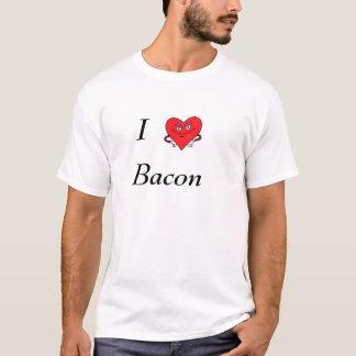 heart, I, Bacon T-Shirt