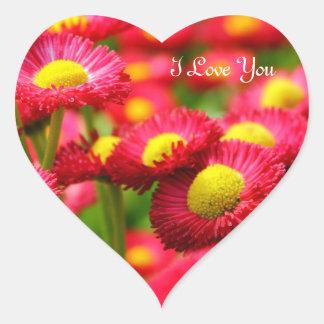 Heart I Love You Heart Sticker
