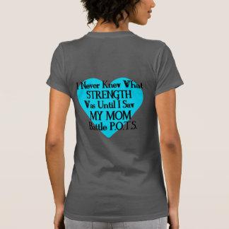 Heart/I Never Knew...Mom...P.O.T.S. T-Shirt