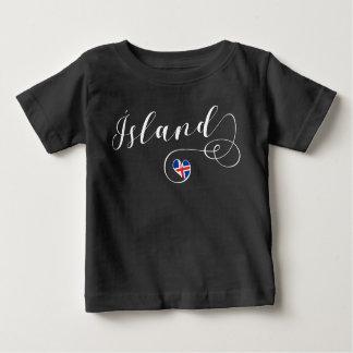 Heart Iceland Tee Shirt, Ísland