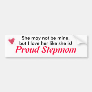 heart_icon, She may not be mine,, but I love he... Bumper Sticker