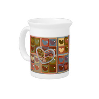 Heart In A Box Pitcher