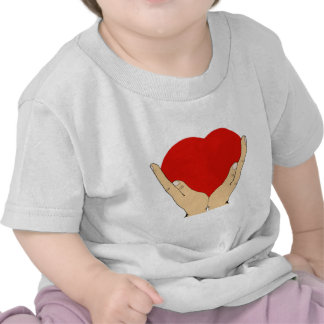 Heart in Hands T-shirts