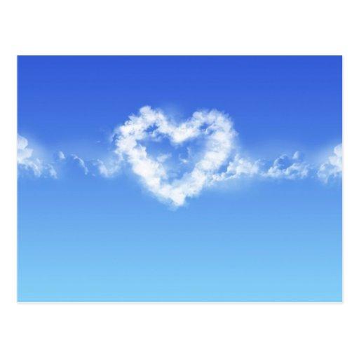 Heart In The Sky Postcard